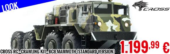 Look - Cross RC - Crawling kit - BC8 Mammoth (Standard Version) 1/12
