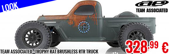 Look - Team Associated - Trophy Rat Brushless RTR Truck