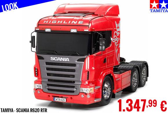 Look - Tamiya - Scania R620 RTR