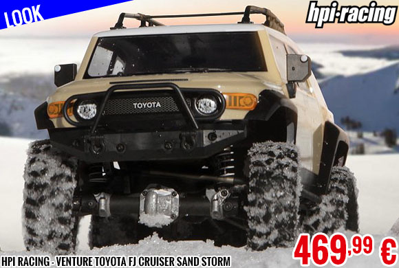 Look - HPI Racing - Venture Toyota FJ Cruiser Sand Storm