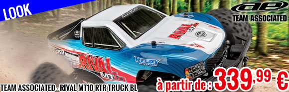 Look - Team Associated - Rival MT10 RTR Truck Brushless