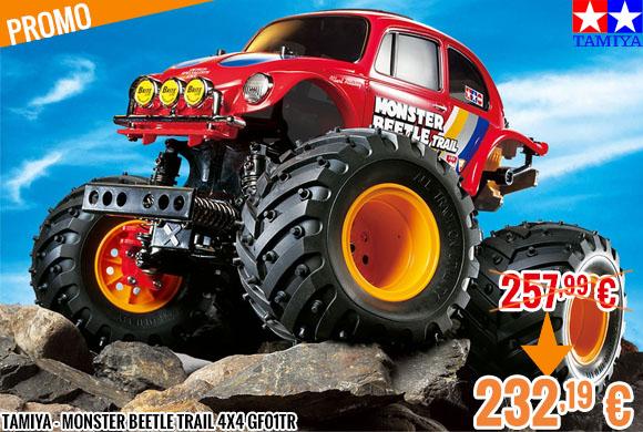 Promo - Tamiya - Monster Beetle Trail 4x4 GF01TR