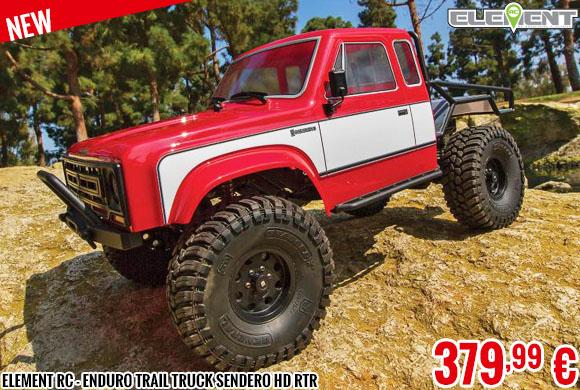New - Element RC - Enduro Trail Truck Sendero HD RTR