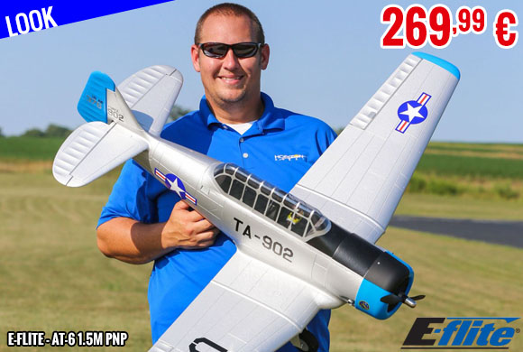 Look - E-Flite - AT-6 1.5m PNP
