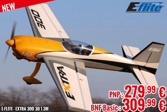 New - E-Flite - Extra 300 3D 1.3m