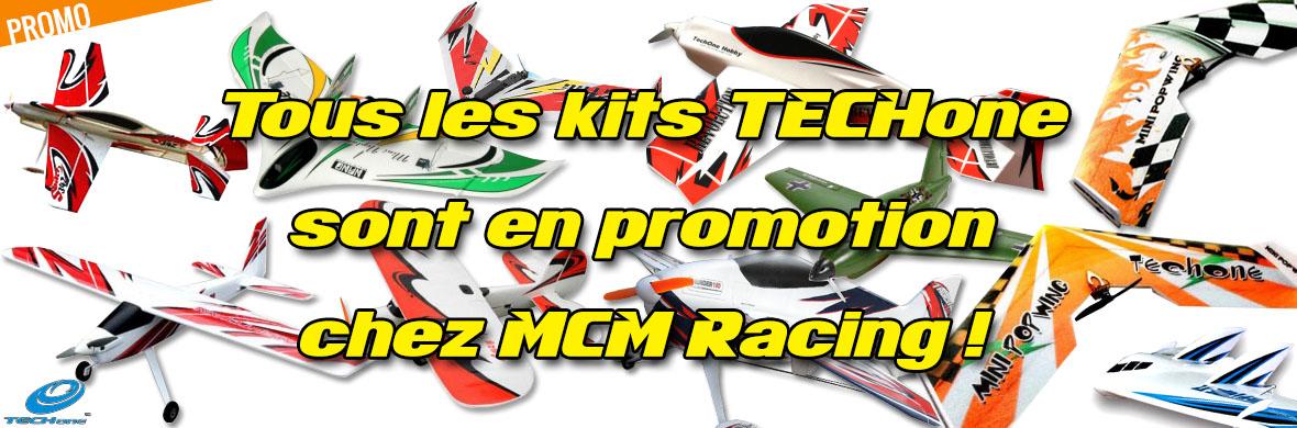 Promo - Tous les kits TECHone sont en promotion chez MCM Racing !