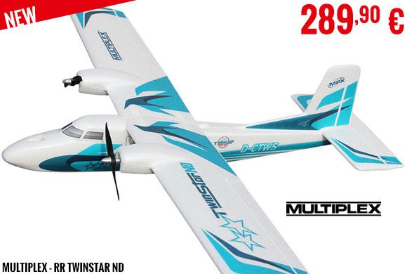 New - Multiplex - RR Twinstar ND
