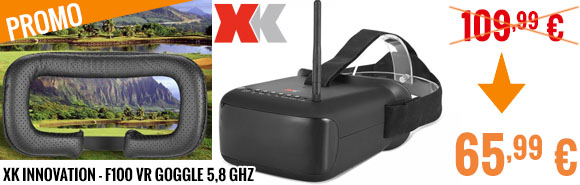 promo - XK Innovation - F100 VR Goggle 5,8 GHz