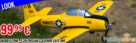 Look - Hobby Zone - T-28 Trojan S 426mm SAFE BNF