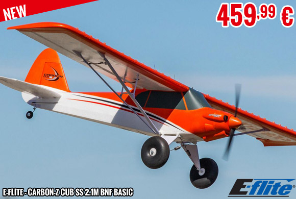 New - E-Flite - Carbon-Z Cub SS 2.1m BNF Basic