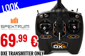 Look - Spektrum - DXe Transmitter Only