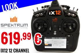 Look - Spektrum - iX12 12 Channel Transmitter Only