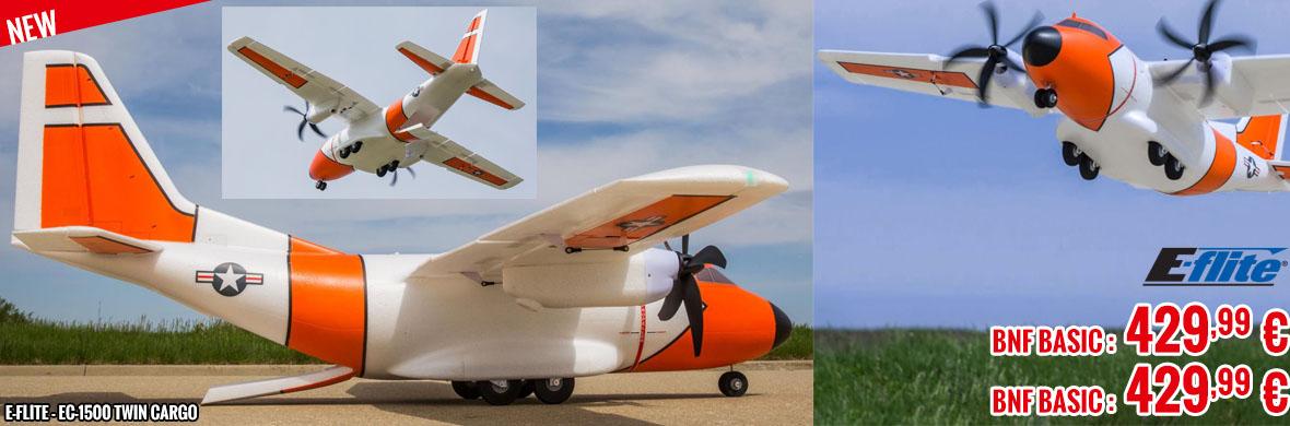 Soon - E-Flite - EC-1500 Twin Cargo