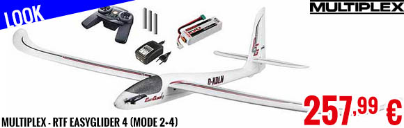 Look - Multiplex - RTF EasyGlider 4 (Mode 2+4)