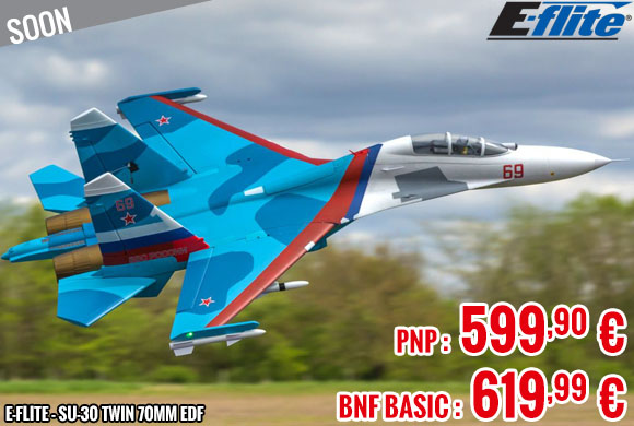 Soon - E-Flite - SU-30 Twin 70mm EDF