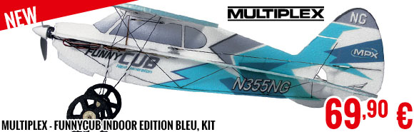 New - Multiplex - FunnyCub Indoor Edition bleu, kit