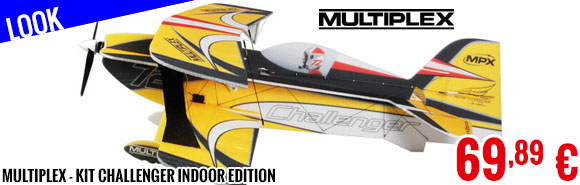 Look - Multiplex - Kit Challenger Indoor Edition