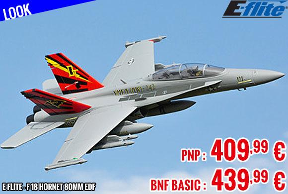 Look - E-Flite - F-18 Hornet 80mm EDF