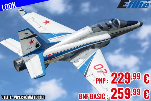 Look - E-Flite - Viper 70mm EDF Jet