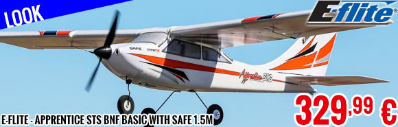 Look - E-Flite - Apprentice STS BNF Basic with SAFE 1.5m