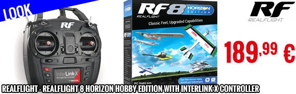 Look - RealFlight - RealFlight 8 Horizon Hobby Edition with InterLink-X Controller