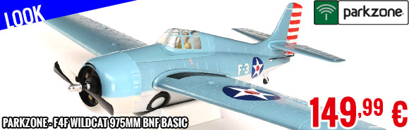Look - ParkZone - F4F Wildcat 975mm BNF Basic
