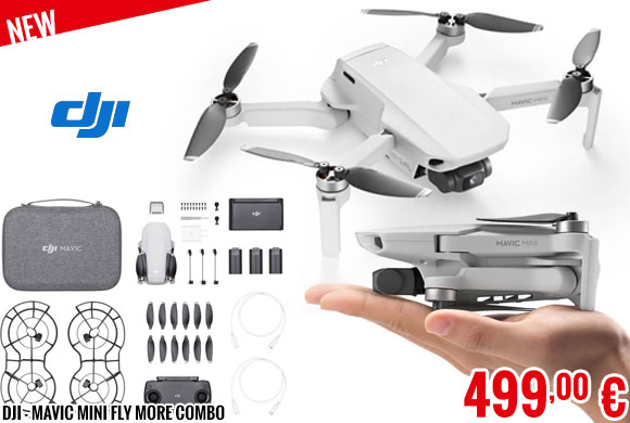 New - DJI - Mavic Mini Fly More Combo