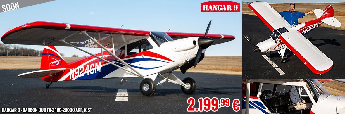 Soon - Hangar 9 - Carbon Cub FX-3 100-200cc ARF, 165