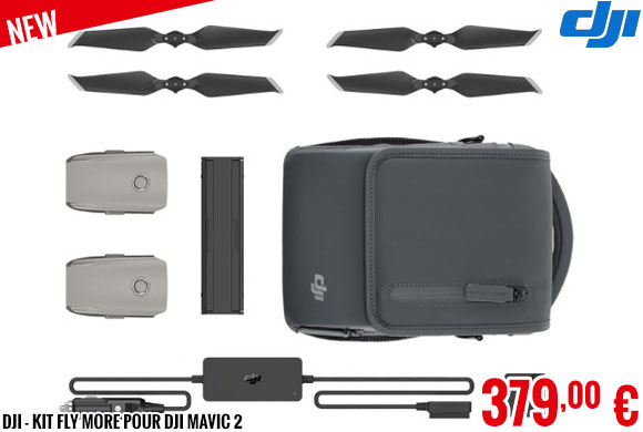 New - DJI - Kit Fly More pour DJI Mavic 2