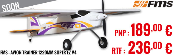 Soon - FMS - Avion Trainer 1220mm Super EZ V4