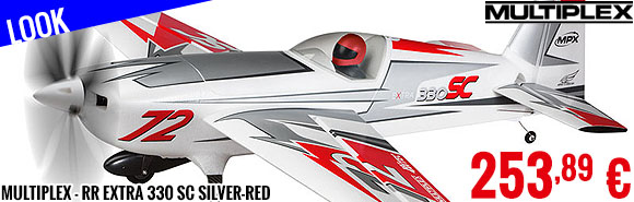 Look - Multiplex - RR Extra 330 SC silver-red