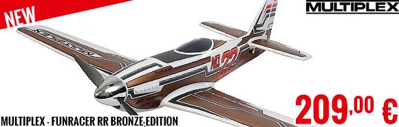New - Multiplex - FunRacer RR Bronze Edition