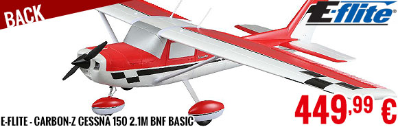 Back - E-Flite - Carbon-Z Cessna 150 2.1m BNF Basic