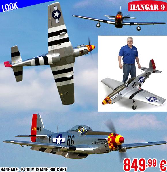 Look - Hangar 9 - P-51D Mustang 60cc ARF