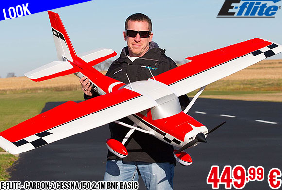 Look - E-Flite - Carbon-Z Cessna 150 2.1m BNF Basic