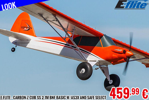 Look - E-Flite - Carbon-Z Cub SS 2.1m BNF Basic with AS3X and SAFE Select