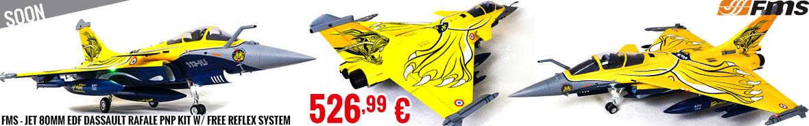 Soon - FMS Dassault Rafale 80mm EDF