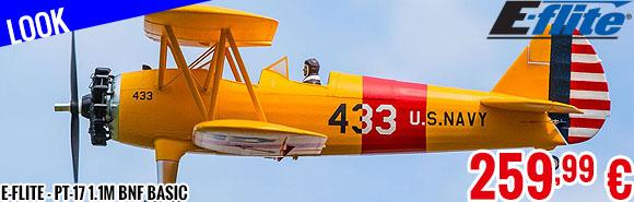 Look - E-Flite - PT-17 1.1m BNF Basic
