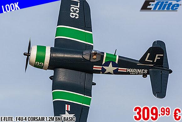 Look - E-Flite - F4U-4 Corsair 1.2M BNF Basic