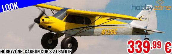 Look - HobbyZone - Carbon Cub S 2 1.3m RTF