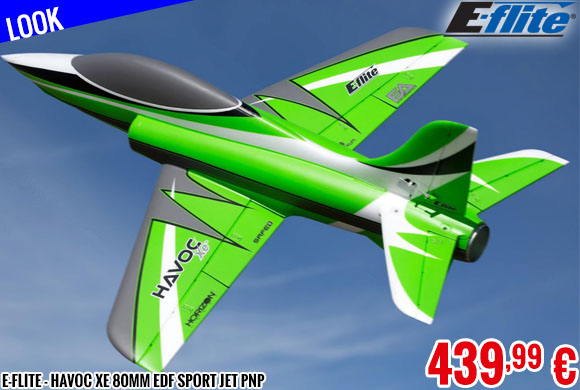 Look - E-Flite - Havoc Xe 80mm EDF Sport Jet PNP