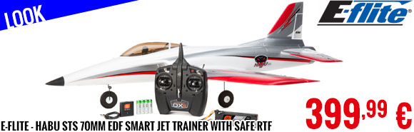 Look - E-Flite - Habu STS 70mm EDF Smart Jet Trainer with SAFE RTF