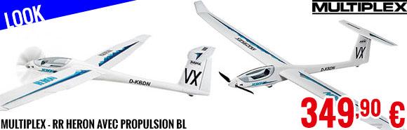 Look - Multiplex - RR Heron avec propulsion BL