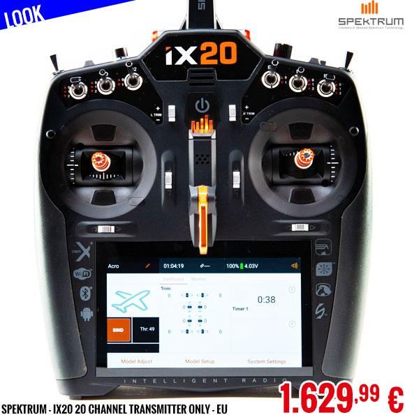 Look - Spektrum - iX20 20 Channel Transmitter Only - EU