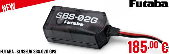 New - Futaba - Senseur SBS-02G GPS