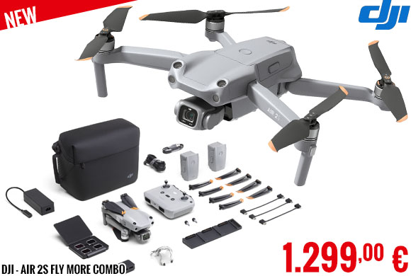 New - DJI - Air 2S Fly More Combo