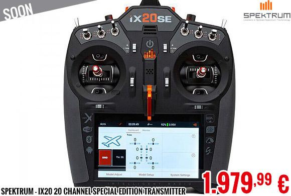 Soon - Spektrum - iX20 20 Channel Special Edition Transmitter