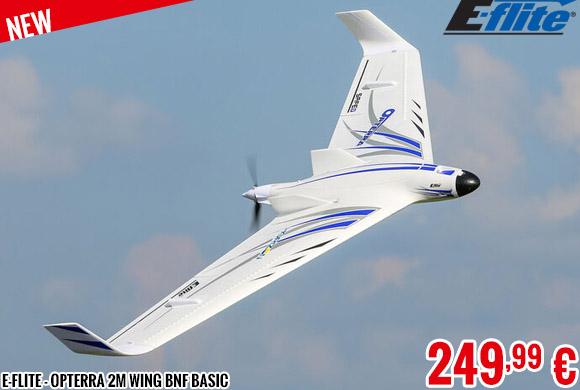 New - E-Flite - Opterra 2M Wing BNF Basic
