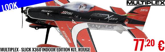 Look - Multiplex - Slick X360 Indoor Edition kit, rouge