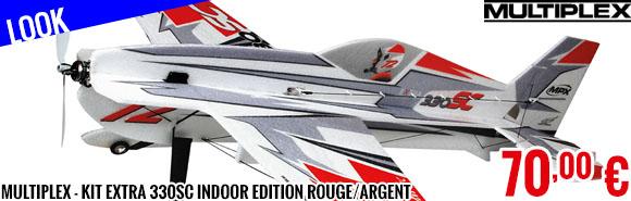 Look - Multiplex - Kit Extra 330SC Indoor Edition rouge/argent